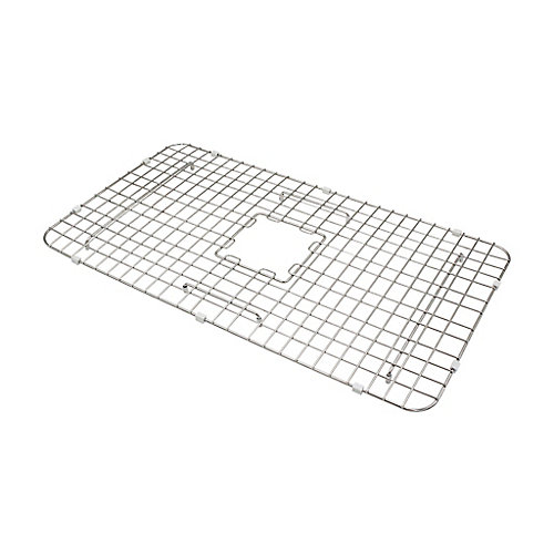 SinkSense Wagner 31 inch x 14 inch Bottom Grid for Kitchen Sinks in Stainless Steel