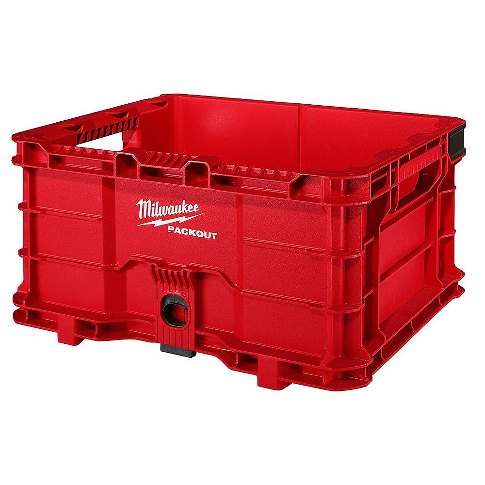 Milwaukee Tool PACKOUT 18.6-inch Tool Storage Crate Bin