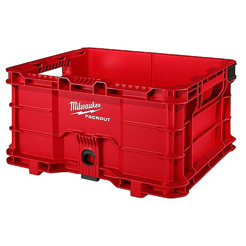 PACKOUT 18.6-inch 50 lb. Capacity Tool Storage Crate Bin