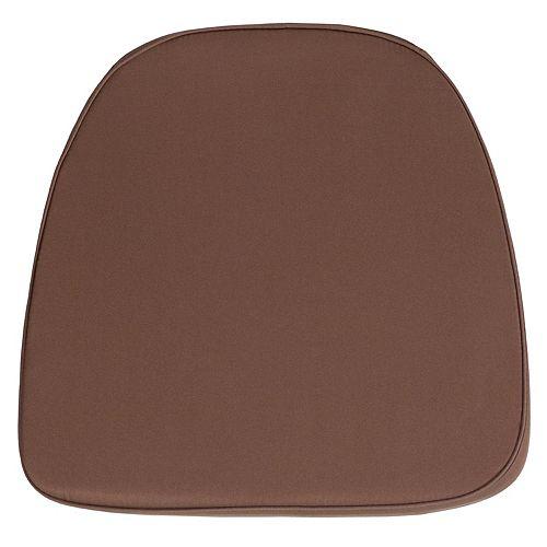 Brown Fabric Cushion