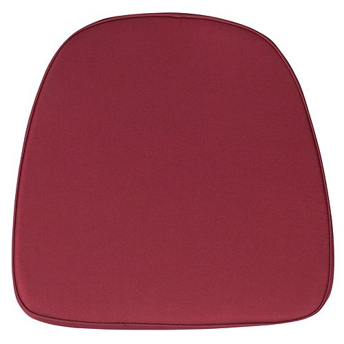 Burgundy Fabric Cushion