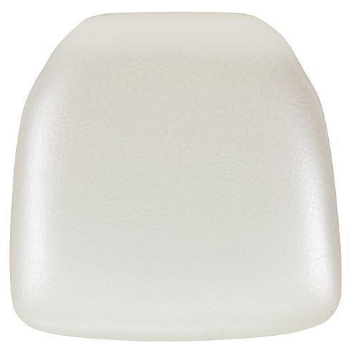 Ivory Vinyl Cushion