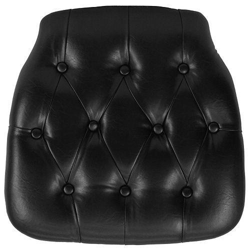 Black Vinyl Cushion