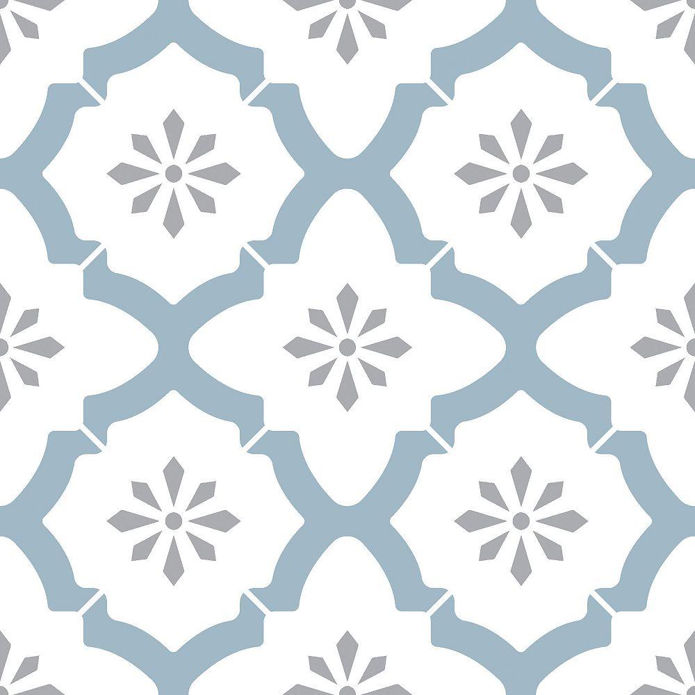 FloorPops Alfama Peel & Stick Floor Tiles Set of 20