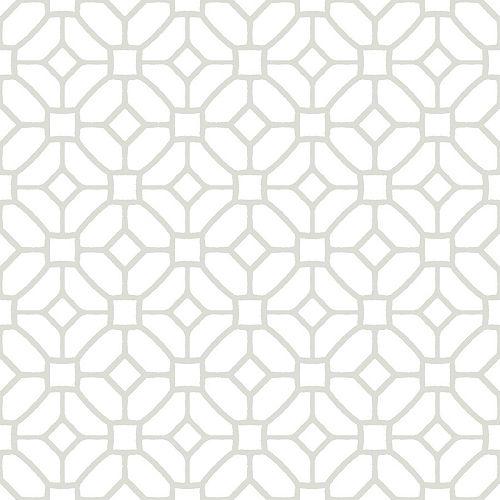Revêtement de sol en feuilles de vinyle Lattice Peler et Coller de 12 po x 12 po (20 pi2 par caisse)