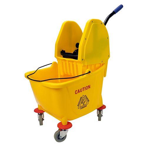 Downpress Wringer Bucket Combo - 9 gal (36 L) - Yellow