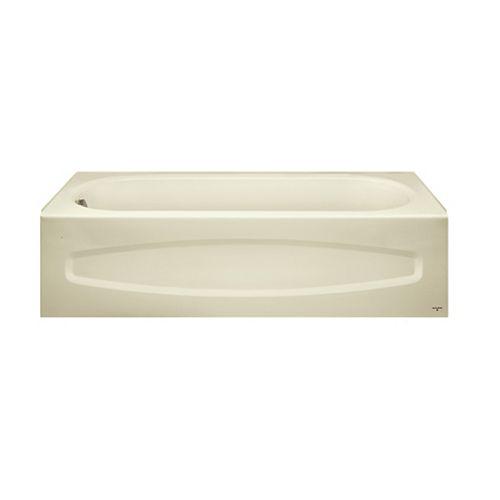 American Standard Colony Bone Left Hand Bath Tub in White