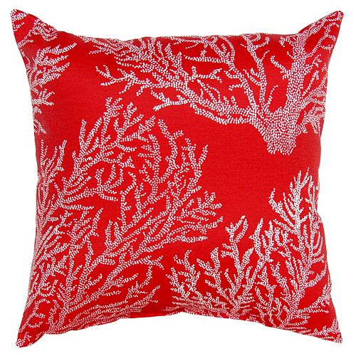 Toss cushion red