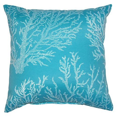 Toss cushion turquoise beach