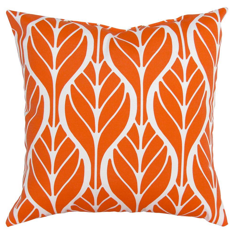 Bozanto Inc Coussin d'appoint orange