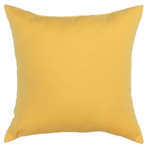 Toss cushion yellow
