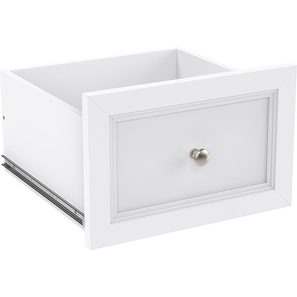 ClosetMaid Selectives 16-inch x 10-inch Drawer with Roller Glides in White