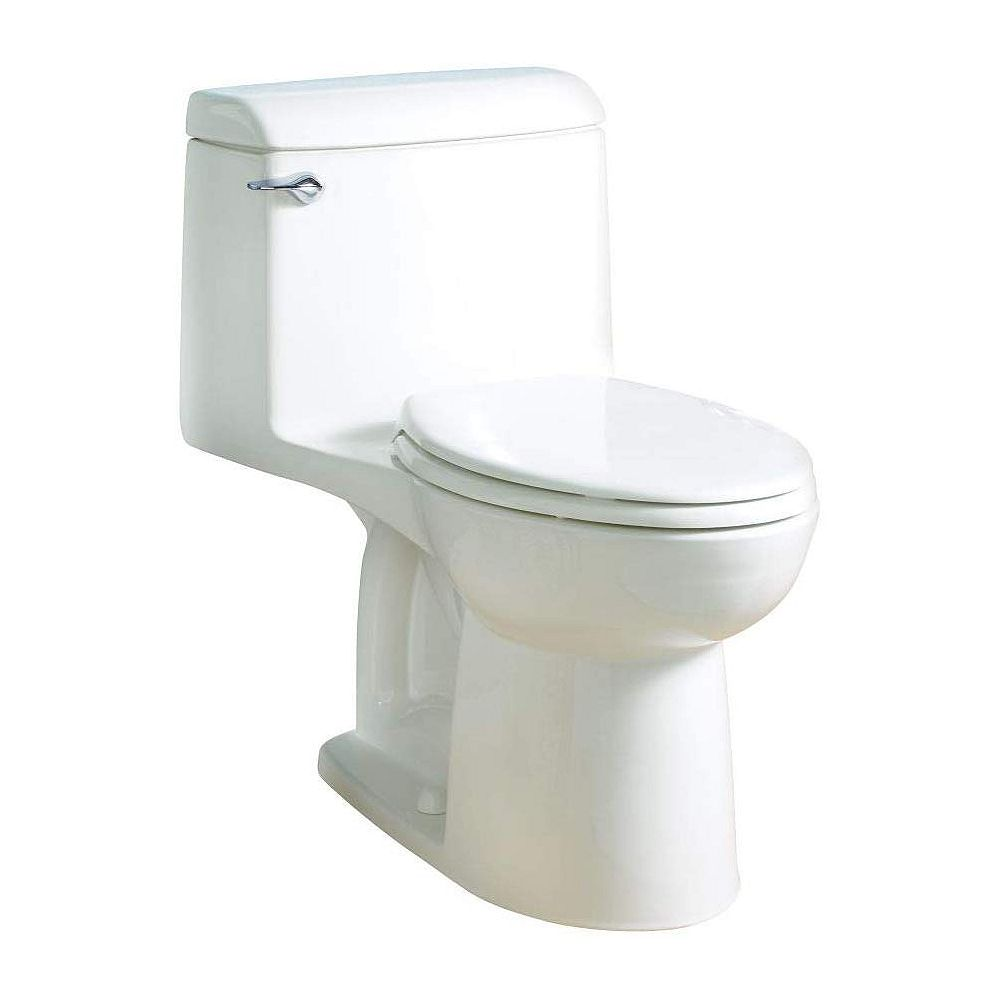 American Standard Champion 4 6L 1.6 GPF Single Flush Elongated Standard Height One-Piece Toilet in White