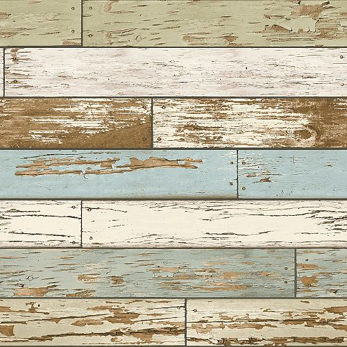 Papier peint en bois vieux Salem