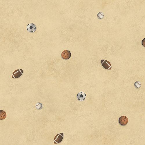 Papier peint Mvp Sand Balles de Sport