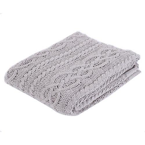 """Couverture / Couverture tricotée en chenille légère et douce, 50 """"x60"""""""