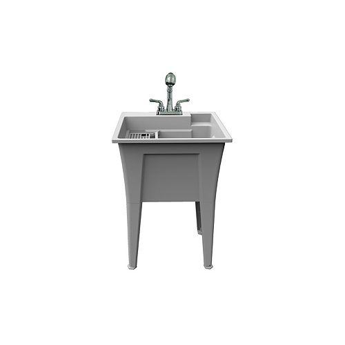 """Selene ensemble de cuve à lavage 24"""" robinet inclus."""