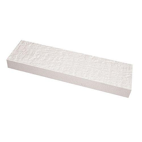 "5/4"" x 6"" x 12"" Pre-finished WHITE Engineered Wood Trim Board"