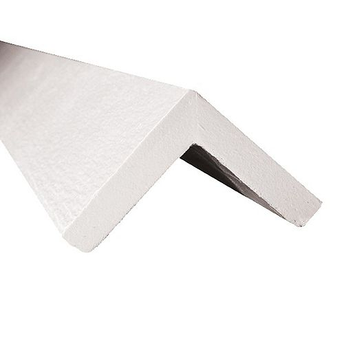 "3/4"" x 4"" x 10"" Pre-finished WHITE Engineered Wood Corner 2 per box"