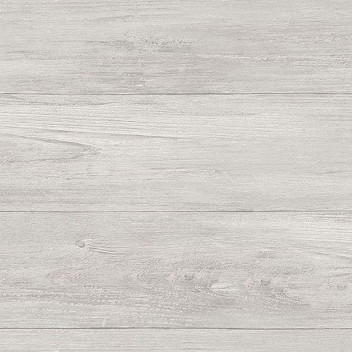 Grey Wood Plank Peel & Stick Wallpaper