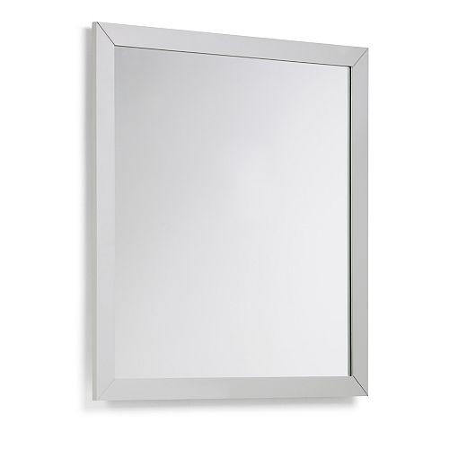 Chelsea 32 inch x 34 inch Bath Vanity Décor Mirror in Warm Grey