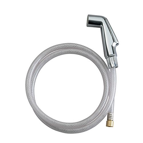 Kitchen Faucet Side Spray With Hose in Polished Chrome