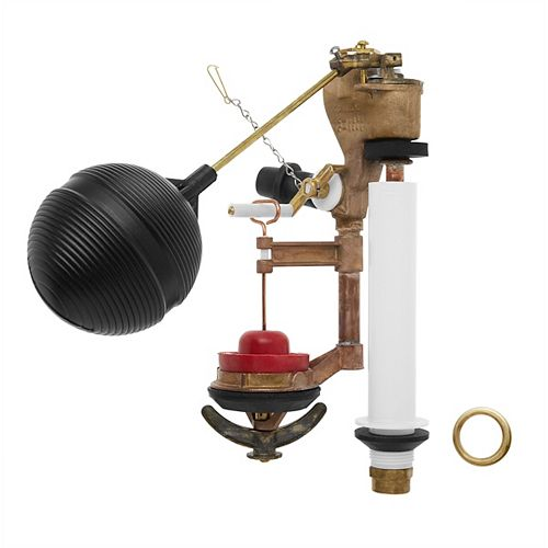 Toilet Fill And Flush Valve Kit