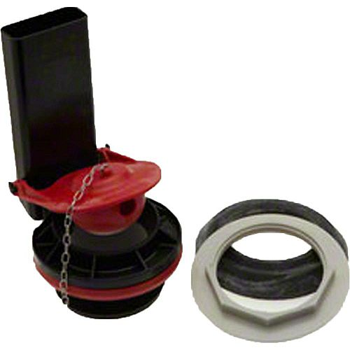 Toilet Flush Valve Kit With 3 1/4 inch Flapper