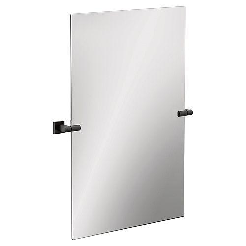 Miroir Triva Noir Mat