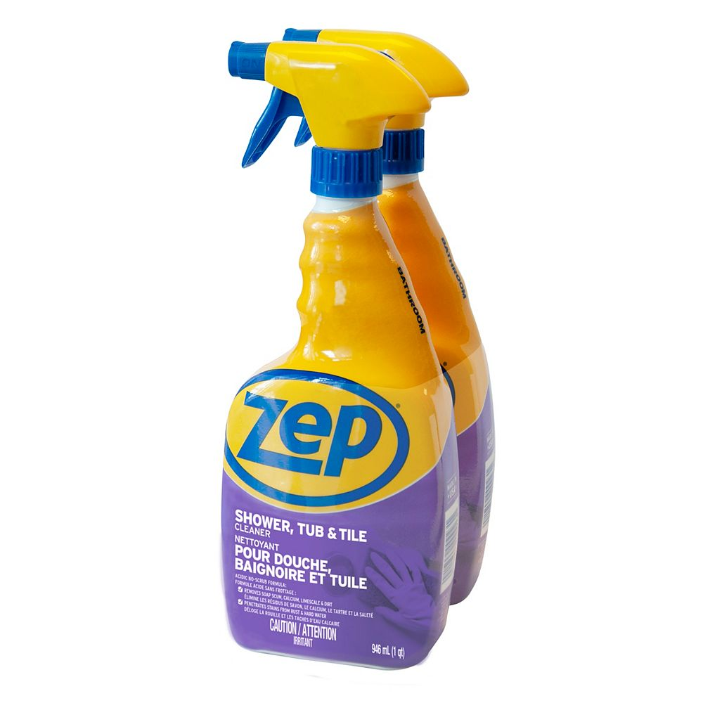 Zep Zep 2-Pack Shower, Tub, & Tile