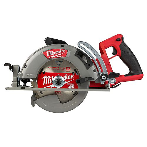 M18 FUEL 18V Lithium-Ion Cordless 7-1/4 -inch Rear Handle Circular Saw (Tool-Only)