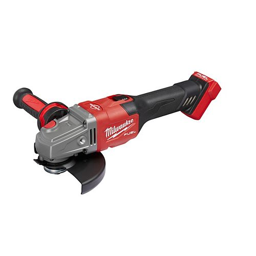 M18 FUEL 18V Li-Ion Brushless 4-1/2 -inch/6 -inch Grinder w/ Slide Switch with Lock On (Tool Only)