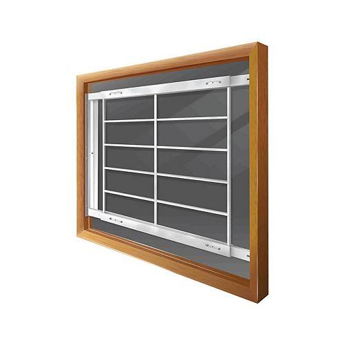 202 E 42-inch to 54-inch W Hinged Window Bar