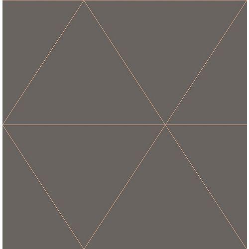 Twilight Grey Geometric Wallpaper