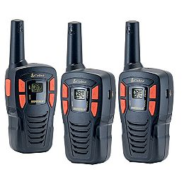 MicroTALK 25 km, 22 Channel FRS/GMRS Two Way Radio / Walkie Talkie - 3 Pack
