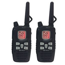 MicroTALK 65 Km, 22 Channel FRS/GMRS Two Way Radio / Walkie Talkie - 2 Pack