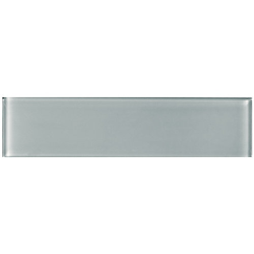 Arctic Metro 3-inch x 12-inch Glass Tile (5 sq.ft. / case)