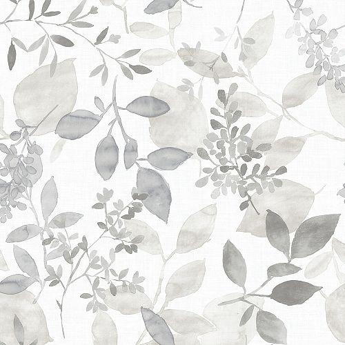 Grey Breezy Peel & Stick Wallpaper