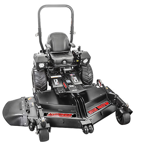 Big Mow Commercial Pro 66 - inch 31 HP Kawasaki Gas Front Deck Finish Cut Zero Turn Mower