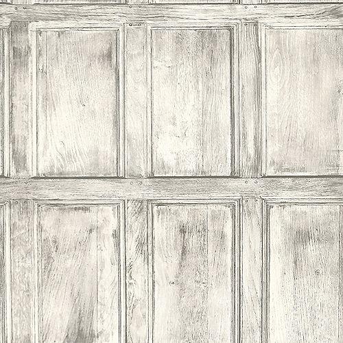 Papier peint de salle commune, blanc
