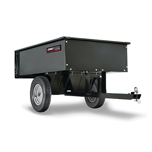 12 cu. ft. 1000 lbs. Capacity Steel Cart