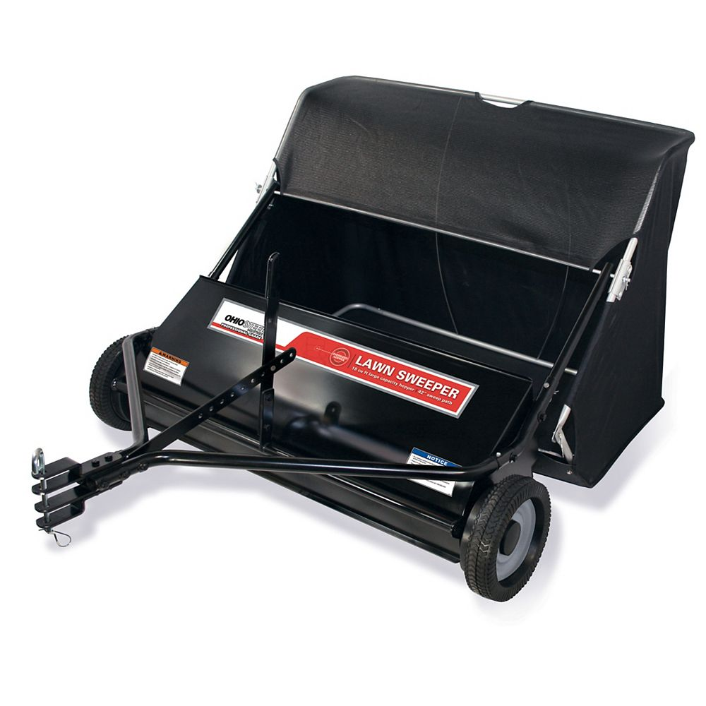 Ohio Steel Professional Grade 42-inch 18 cu. ft. Lawn Sweeper