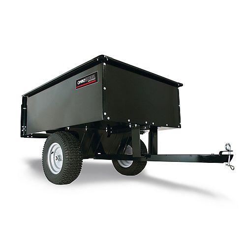 16 cu. ft. 1250 lb. Capacity Steel Dump Cart