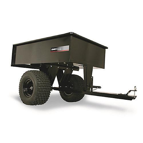 Chariot ATV en acier de 12 pi³