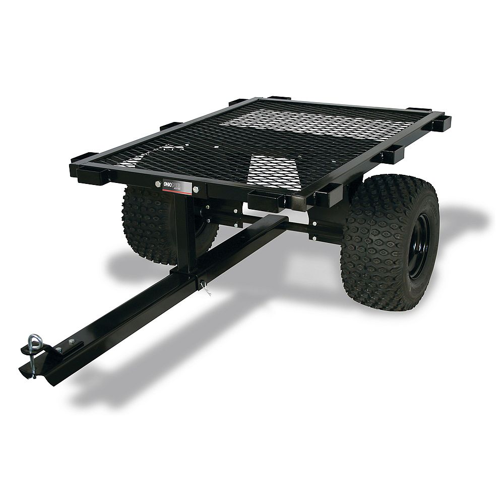 Ohio Steel 1000 lb. Capacity Steel Flatbed ATV Cart