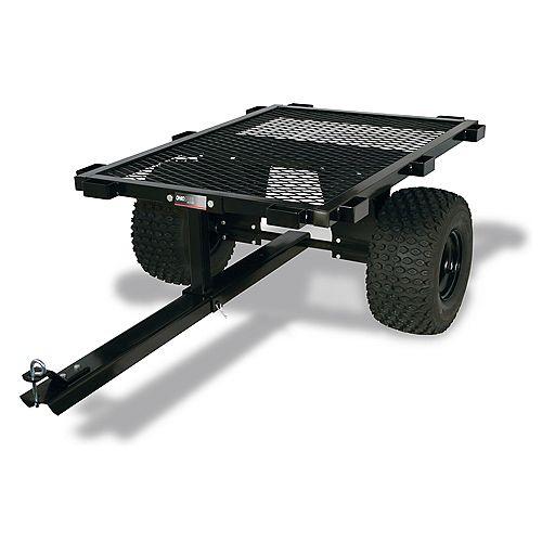 1000 lb. Capacity Steel Flatbed ATV Cart