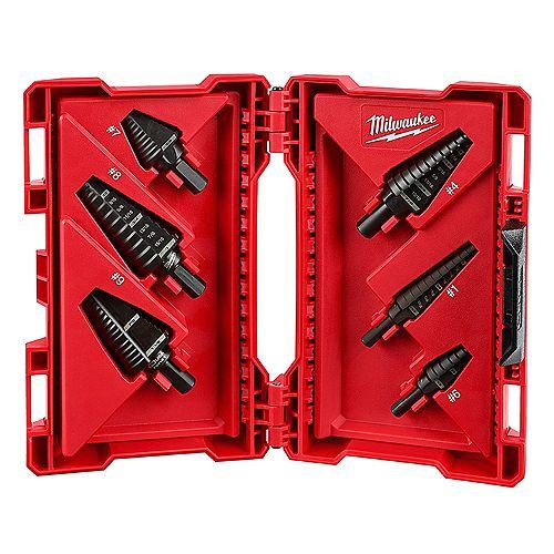 Milwaukee Tool Black Oxide Step Drill Bit Set (6-Piece)