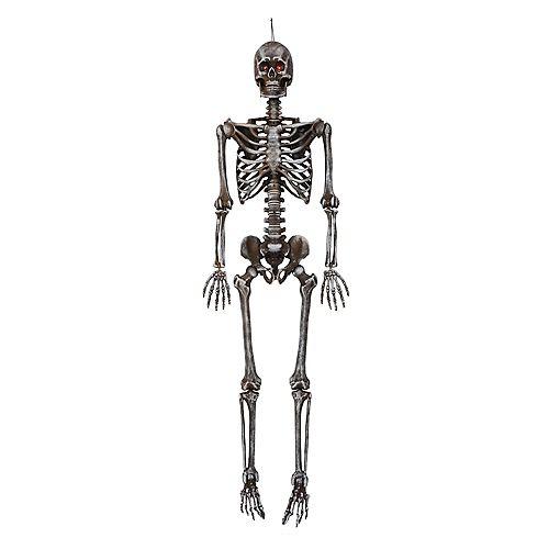 5 ft. LED Pose-N-Stay Ash Skeleton