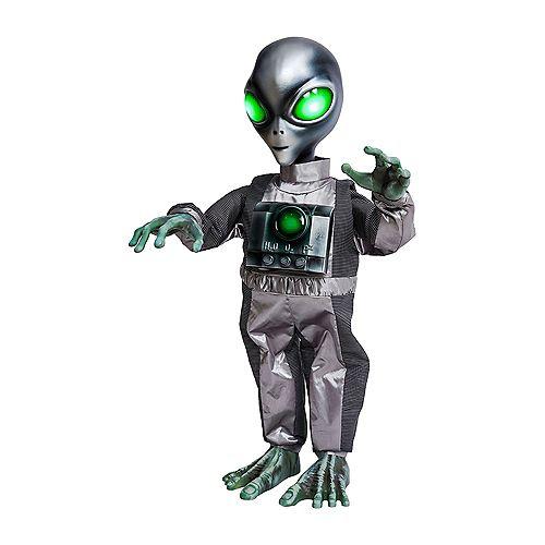 91,4 cm Extraterrestre dansantANIMÉ à DEL