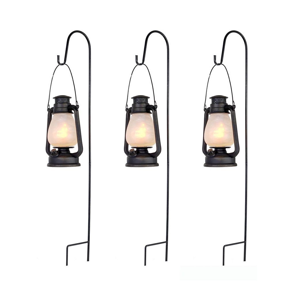 Home Accents Spooky Lantern Pathway Marker Halloween Decoration (3-Pack)